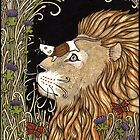 The Lion and the Mouse (Colour) by Anita Inverarity