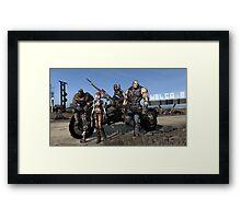 Borderlands - Vault Hunters Framed Print