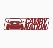Camry Nation - Gen 6 Red Alternate by Jordan Bezugly