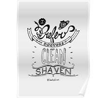 I prefer my doctors clean shaven. Poster