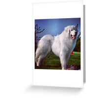 A Glorious Creature Greeting Card