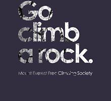 Go Climb A Rock Mens V-Neck T-Shirt