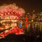 What Was Old Is New Again - Sydney New Years Eve  by Philip Johnson