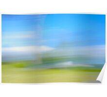 Impressionist Landscape Poster