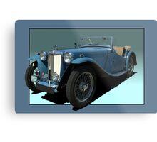 1946 MG TC Roadster Metal Print