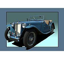 1946 MG TC Roadster Photographic Print