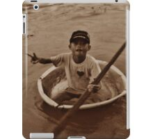 Paddling with the Flow iPad Case/Skin