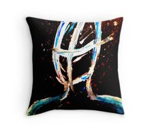 Oblivion Painting Throw Pillow
