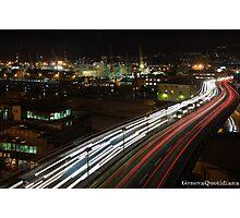 Genova - Strada sopraelevata Aldo Moro Photographic Print