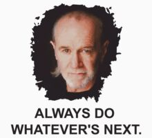 George Carlin by MrCarrillo