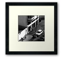 Casablanca Commuting Framed Print