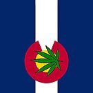 Smartphone Case - State Flag of Colorado - Cannabis Leaf 1  by Mark Podger
