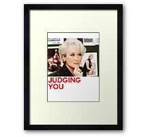 Miranda Priestly Framed Print