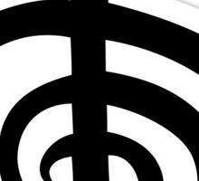 reiki  symbol labyrinth Sticker