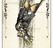 The Major Arcana - The Hanged Man by TheIsidoreTarot