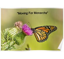 Moving For Monarchs Poster