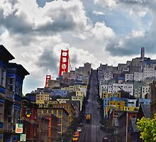 Streets of America-San Francisco @ Hollywood Studios by lmcarlos