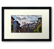 Streets of America-San Francisco @ Hollywood Studios Framed Print