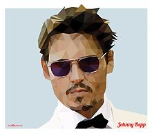 Johnny Depp Triangulation Vector by Red82Creative