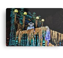 Hitchhiking Ghost @ Boo to You Parade Metal Print