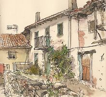 Casa en el Otero, Guardo by Adolfo Arranz