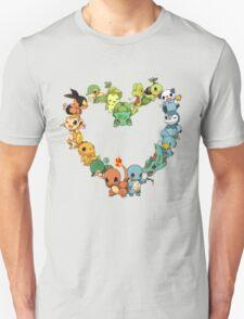 All starters!!!  Pokemon  T-Shirt