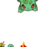 All starters!!!  Pokemon  Sticker