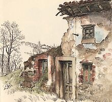 Ruined house by Adolfo Arranz