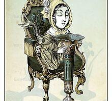 The Minor Arcana - Queen of Cups by TheIsidoreTarot