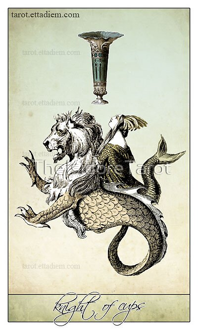 The Minor Arcana - Knight of Cups by TheIsidoreTarot