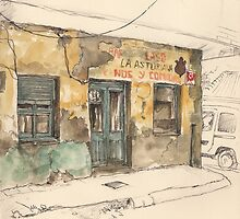 Bar La Asturiana by Adolfo Arranz