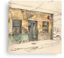 Bar La Asturiana Canvas Print
