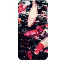 Cool Red Koi Fish in the Water iPhone Case/Skin