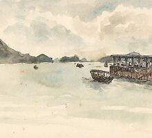 Sai Kung Bay after the storm by Adolfo Arranz
