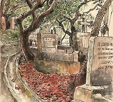 Old cemetery in Happy Valley by Adolfo Arranz