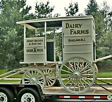 Becker Farm Milk Truck by Jane Neill-Hancock