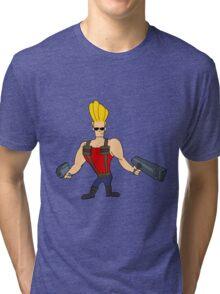Johnny Nukem Tri-blend T-Shirt