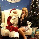 Santa and I - Cheeky by Sorcha Whitehorse ©