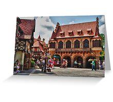 Germany Pavilion @ Epcot Greeting Card