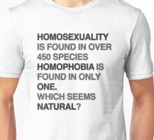 homophobia Unisex T-Shirt