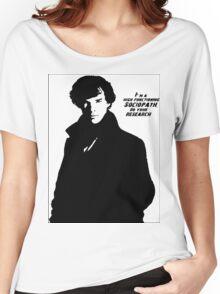 Sherlock- High Functioning Sociopath Women's Relaxed Fit T-Shirt