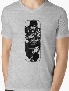 Figure 11 Military Gun Range Target Mens V-Neck T-Shirt