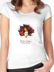Doctor Who - Amelia Pond - The Girl Who Waited Women's Fitted Scoop T-Shirt