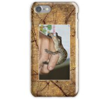 Baby Crocodile Cellphone case 2b iPhone Case/Skin