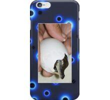 Baby Crocodile Being Born Cellphone Case 12b iPhone Case/Skin