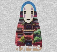 No Face Bathhouse2 One Piece - Long Sleeve