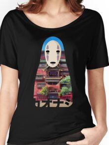 No Face Bathhouse2 Women's Relaxed Fit T-Shirt