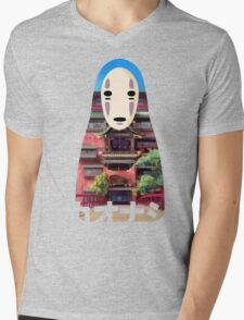 No Face Bathhouse2 Mens V-Neck T-Shirt