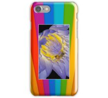Bee Water Lily Cellphone Case 35b iPhone Case/Skin