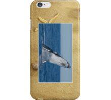 Whale Breaching Cellphone Case 40b iPhone Case/Skin